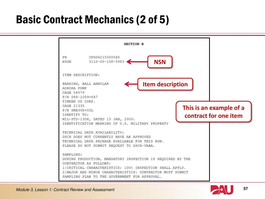 MODULE 3 Contract Review and Assessment - ppt download
