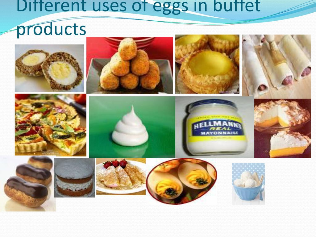 USES OF EGGS   - ppt download