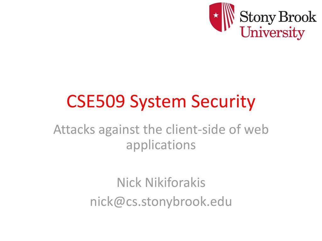 Attacks against the client-side of web applications - ppt download
