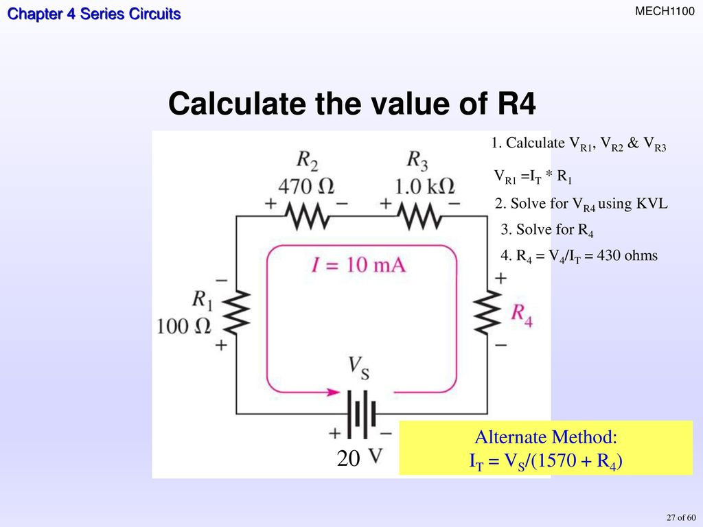 Topics Resisters In Series Total Resistance Current Ohms Law Voltage Divider Diagram 25 Rule The
