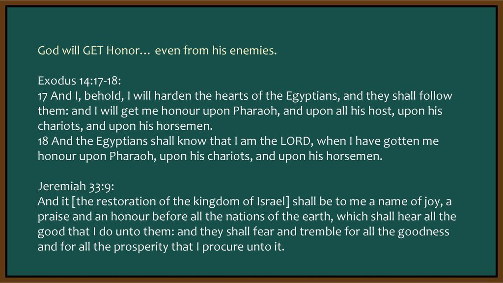 Honor defined: To treat with deference and submission, and