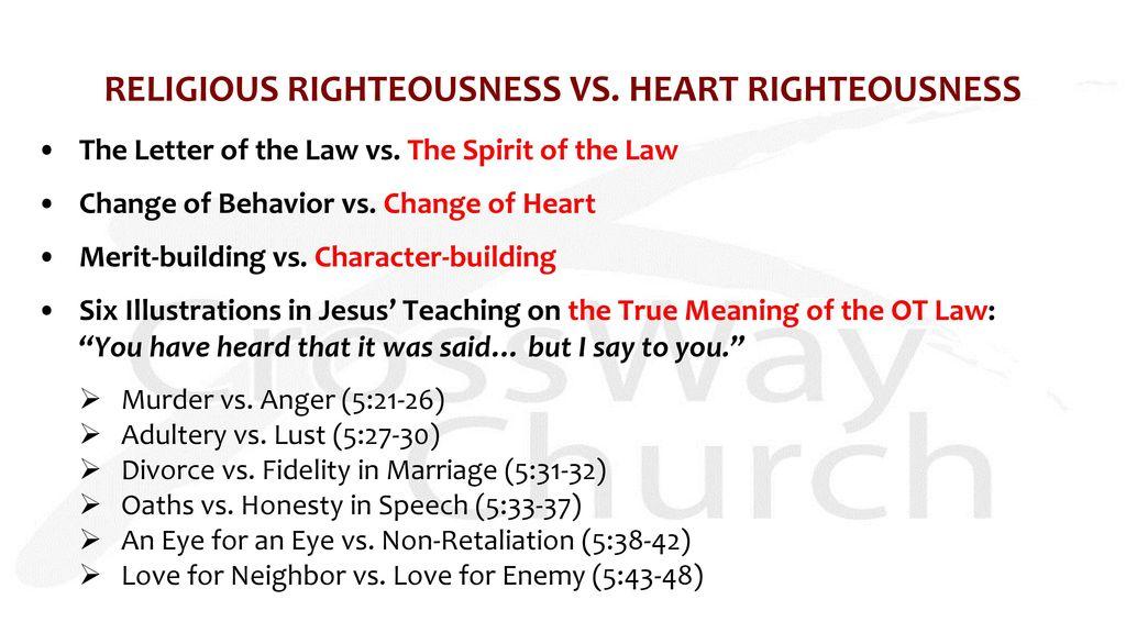 Get PDF Sermon + Bible Study Notes: Does an eye for an eye