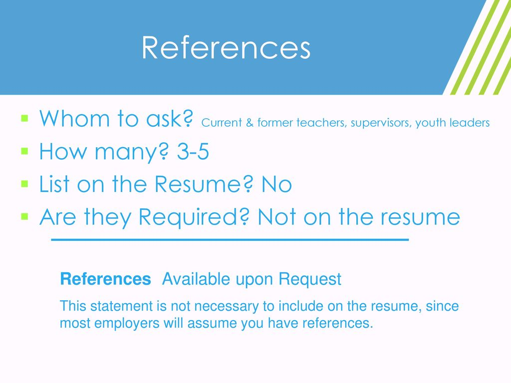 Resume Writing For English Ppt Download