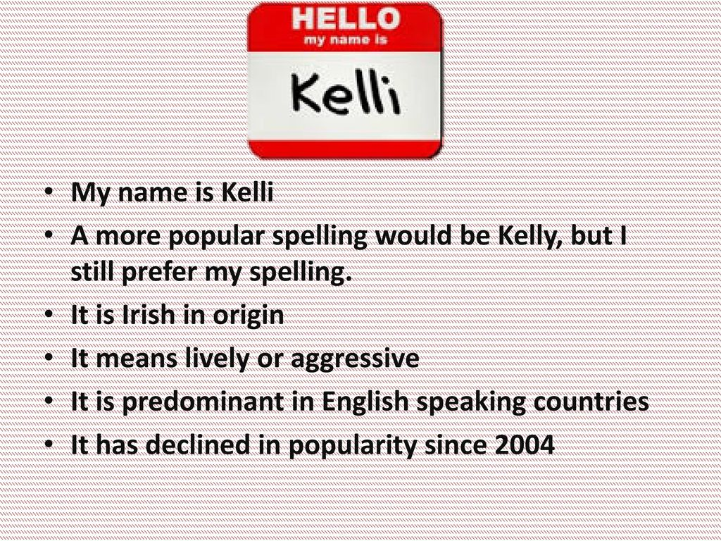 Kelli Bishop Welcome to My World!  - ppt download