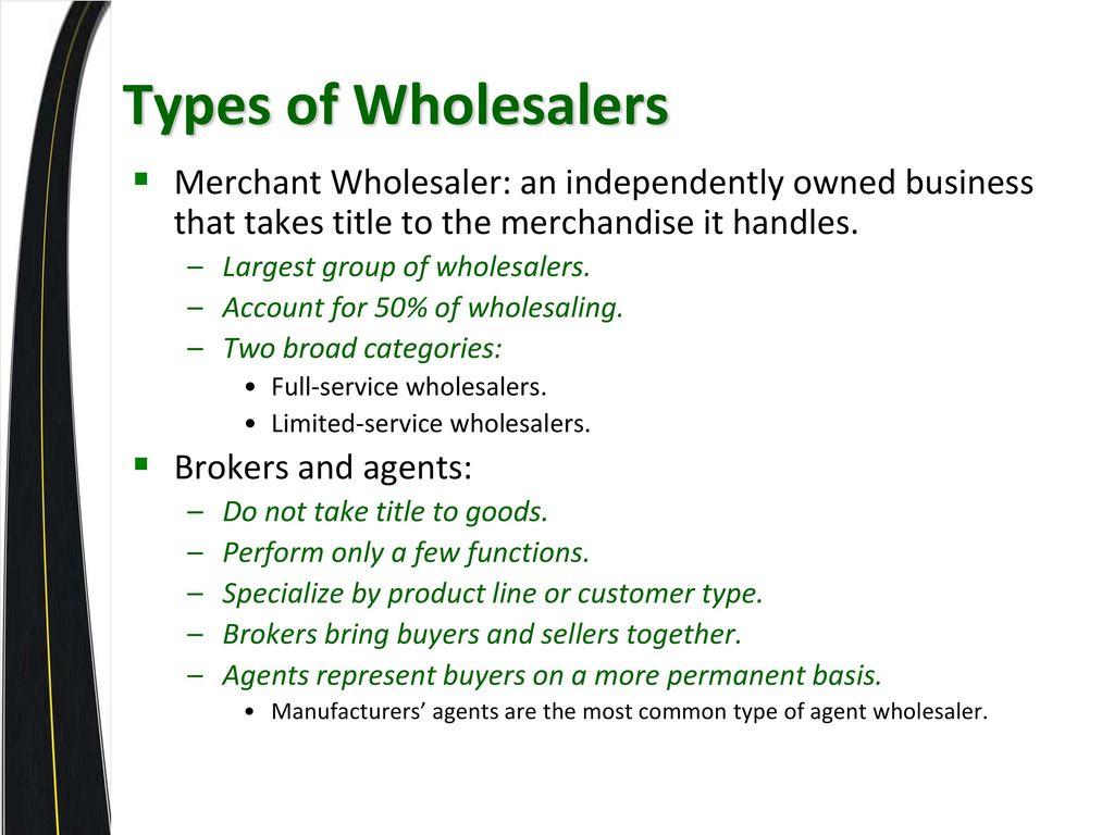 full service merchant wholesaler