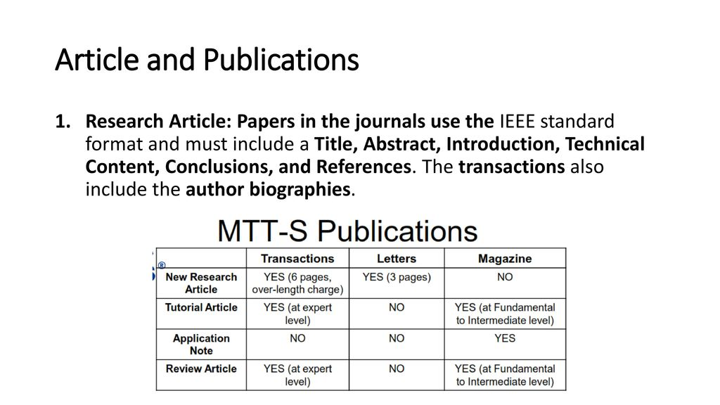 how to write abstract for paper presentation in ieee format