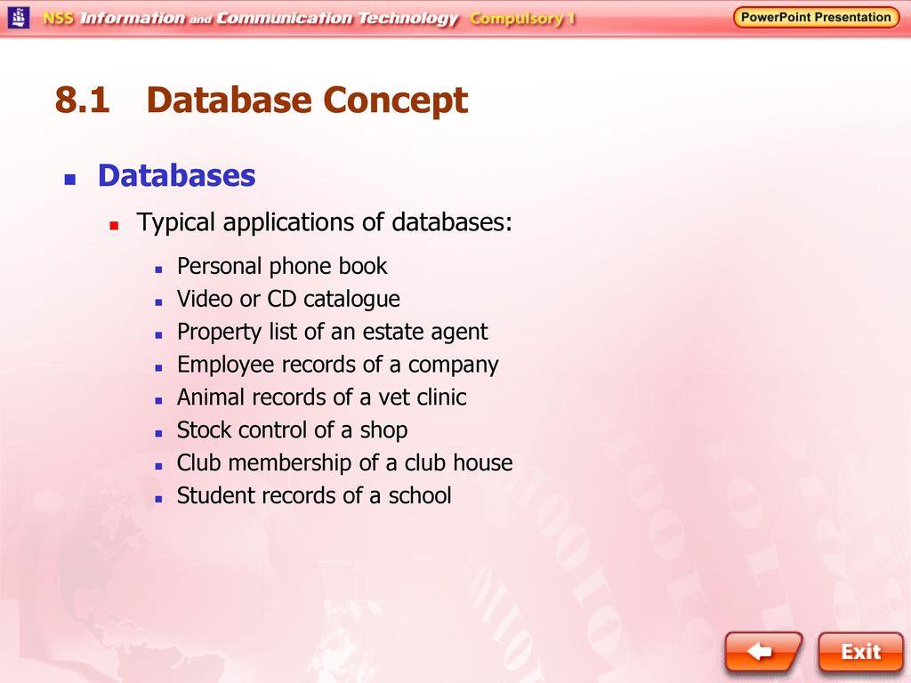 8 1 Database Concept Revolution of Information Management - ppt download