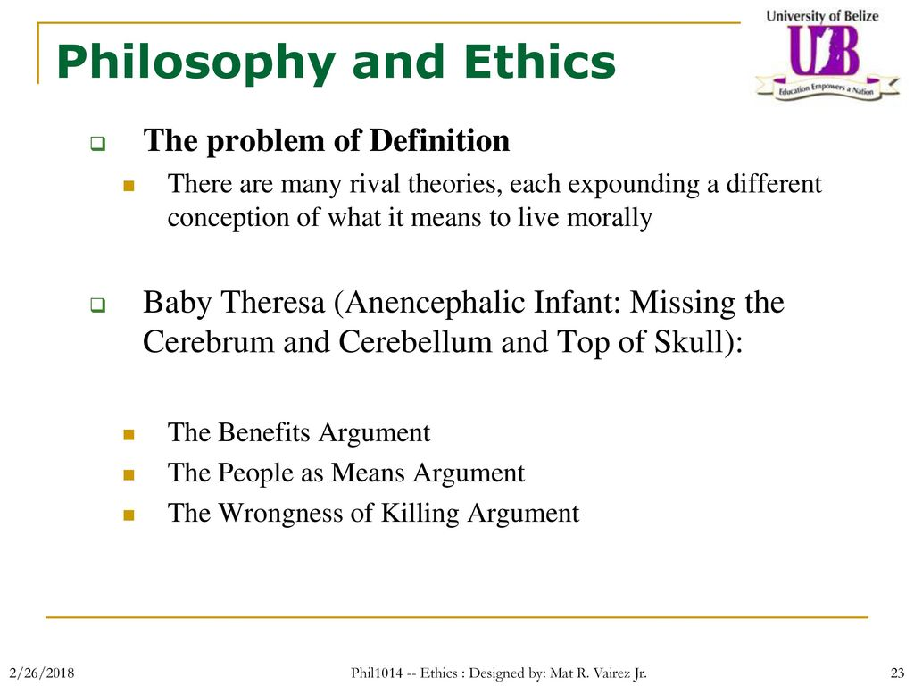 Why do people live philosophical arguments about the meaning of life 73