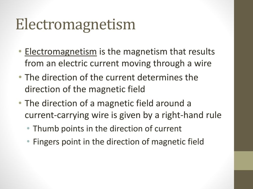 Magnetism Magnetism originates at the atomic level and is caused by ...