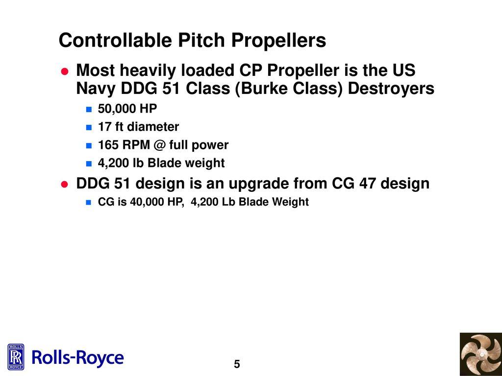 Controllable Pitch Propeller Blade Bolt Design - ppt download