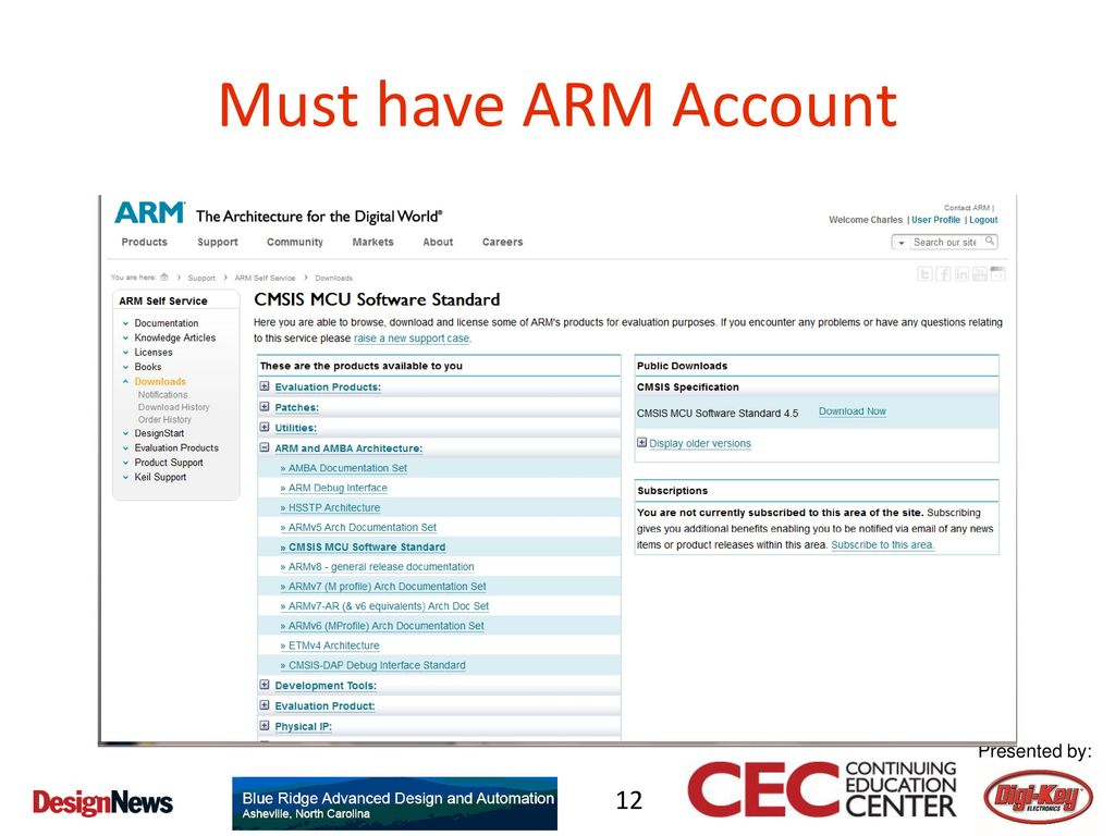 Introduction to the ARM mbed Platform– A Hands-on Course