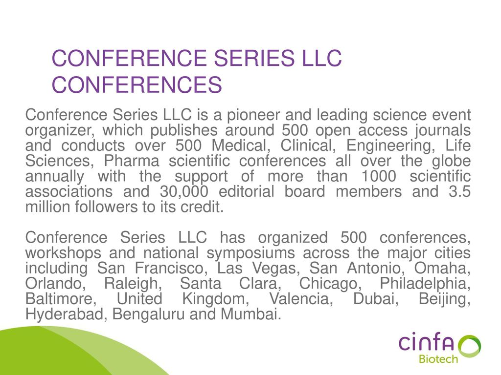 Conference Series LLC Conferences