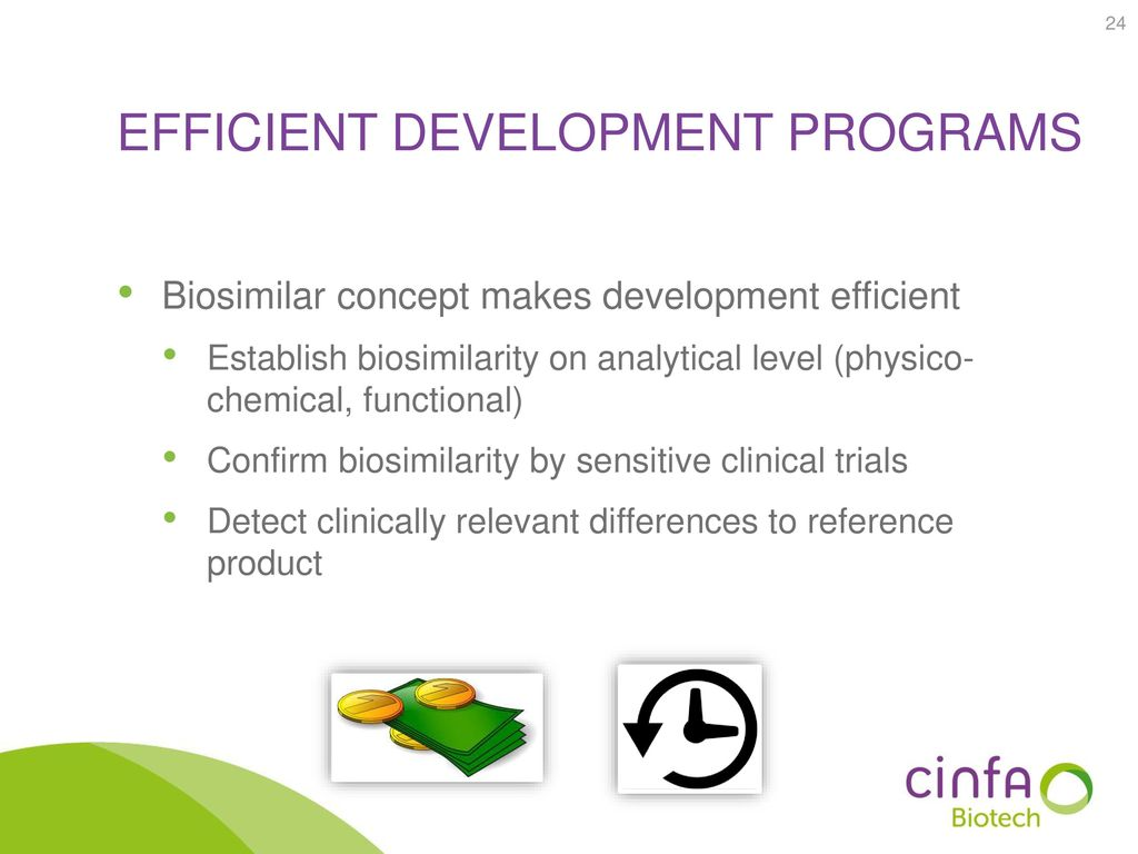 Efficient development programs