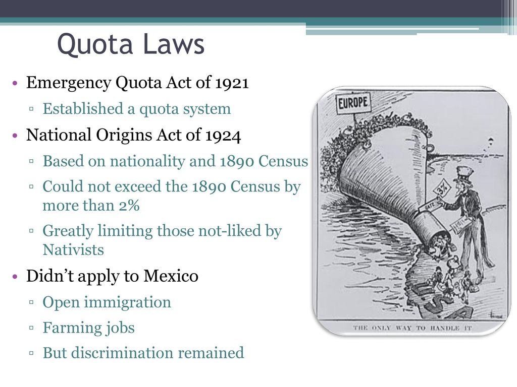national origins act of 1924
