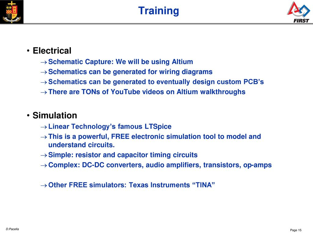 Cwnc Frc Sessions Team 26 Ppt Download Tina Electronic Circuit Design Software 15 Training Electrical Simulation