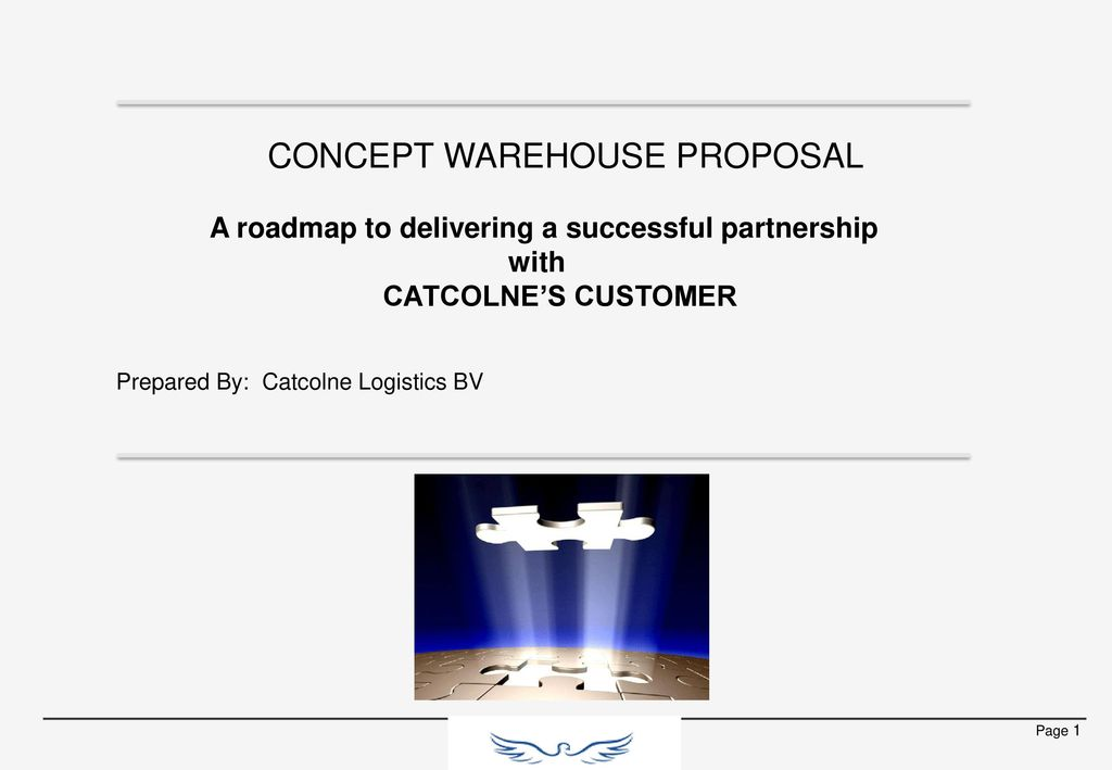 CONCEPT WAREHOUSE PROPOSAL - ppt download
