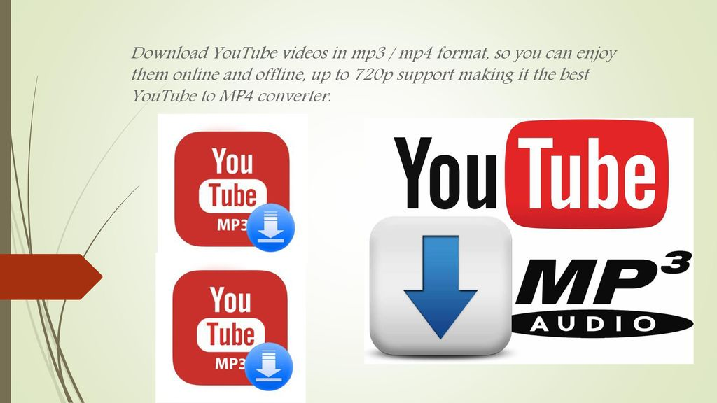 youtube to mp3 and mp4 converter