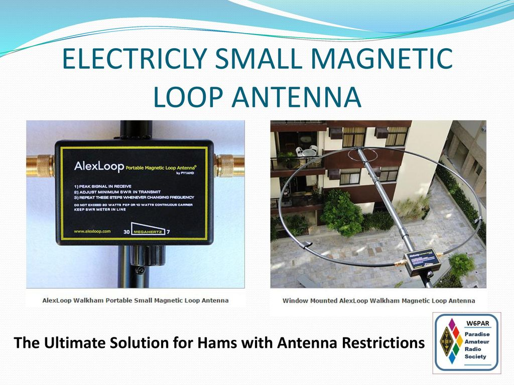 The World Of Loop Antennas - ppt download