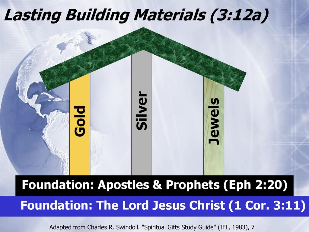 Who blessed you 1 corinthians 3 ppt download lasting building materials 312a negle Image collections