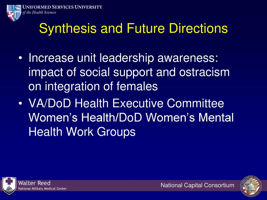 An Overview Of Service Women S Health Issues 1986 To Ppt Download