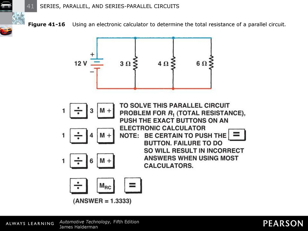Series Parallel And Circuits Ppt Download Circuit Picture 20 Figure