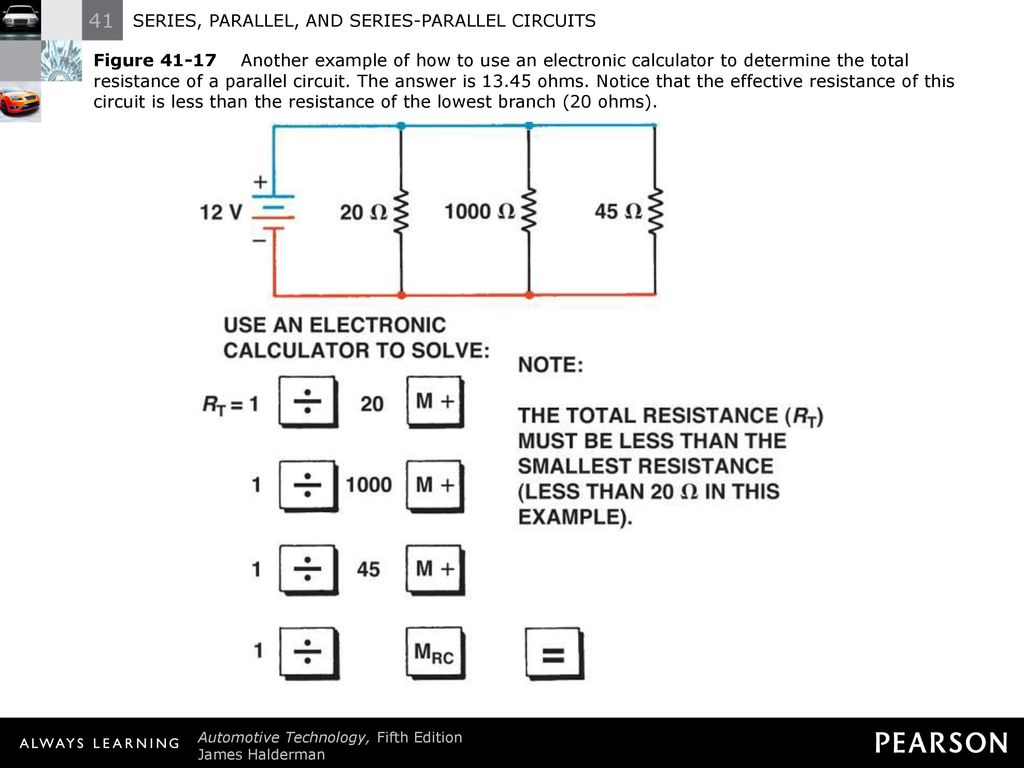 Series Parallel And Circuits Ppt Download Resistance Circuit Of A 21 Figure