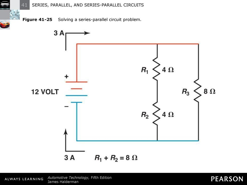 Series Parallel And Circuits Ppt Download This Is A Circuit 29 Figure 41 25 Solving