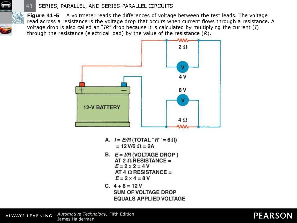 Series Parallel And Circuits Ppt Download Voltage Drop In A Circuit 7 Figure