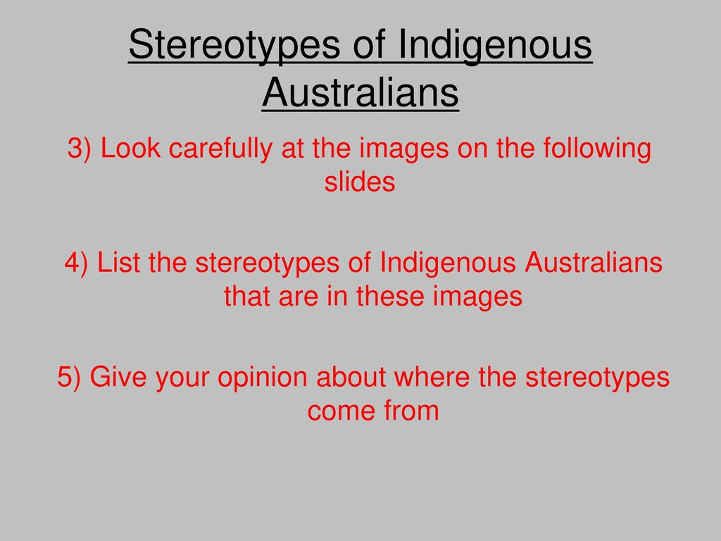 stereotypes: facts and myths - ppt download