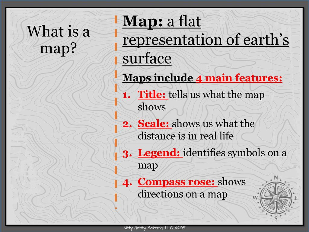Topographic Maps Key Vocabulary Ppt Download