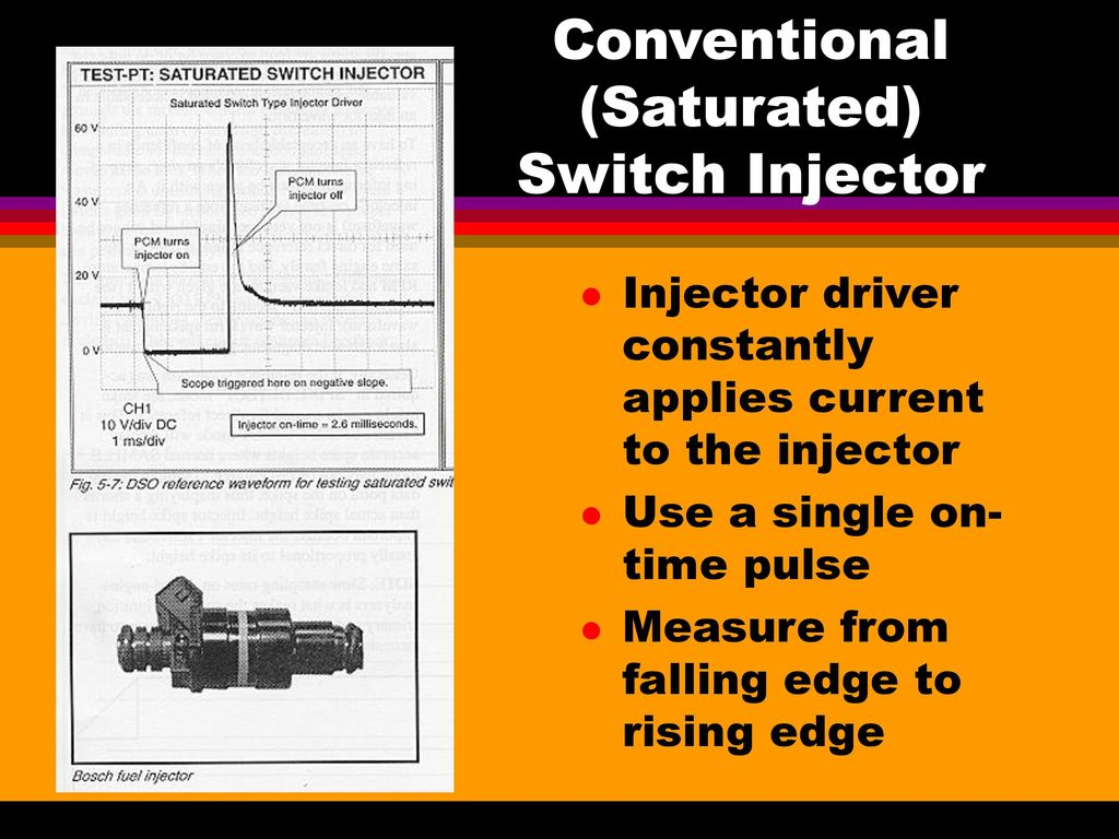 Fuel Injector Diagnosis Ppt Download Scr Triggering Using Ujt 5 Conventional