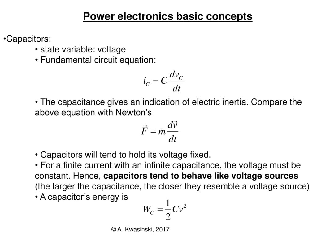 Power Electronics Conversion 2 Ppt Download Voltagecontrolledstatevariablefilter Powersupplycircuit Basic Concepts