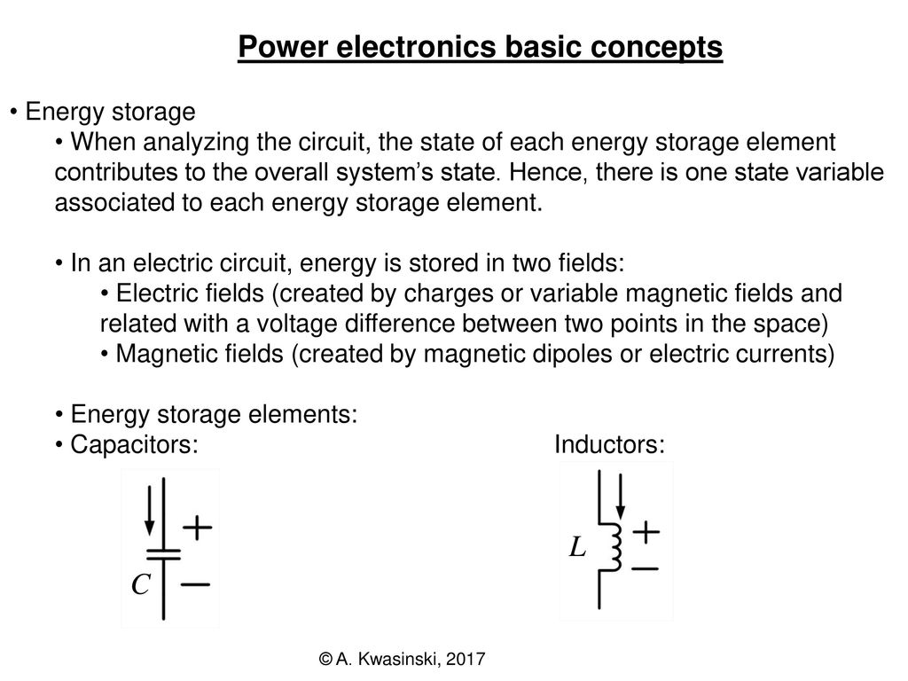 Power Electronics Conversion 2 Ppt Download Voltagecontrolledstatevariablefilter Powersupplycircuit Basic Concepts 10 Capacitors State Variable Voltage Fundamental Circuit