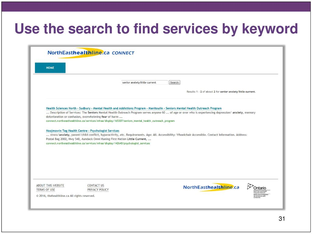 Referral Tools For The Mental Health And Addictions Mh A Sector