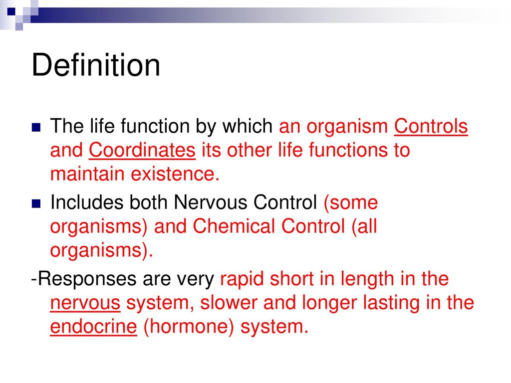regulation biology-unit ppt download