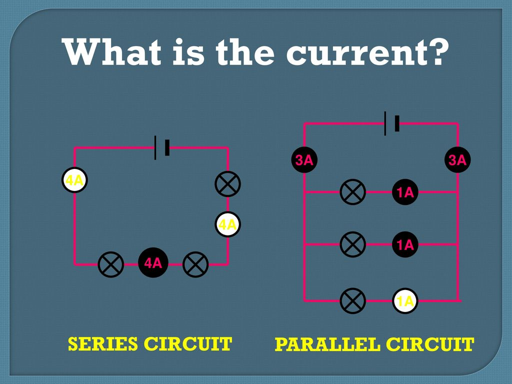 Warm Up Draw A Picture Of Series Circuit Show Battery Switch Circuits Parallel 9 What Is The Current