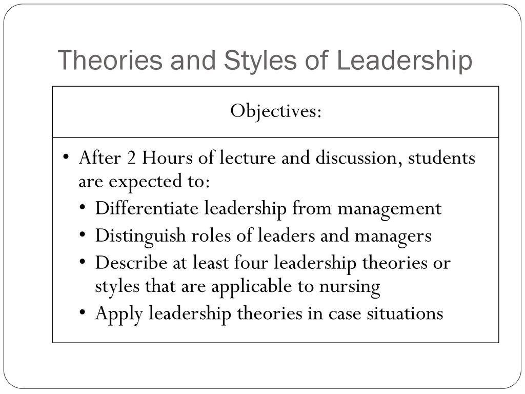 Nursing Leadership & Management - ppt download