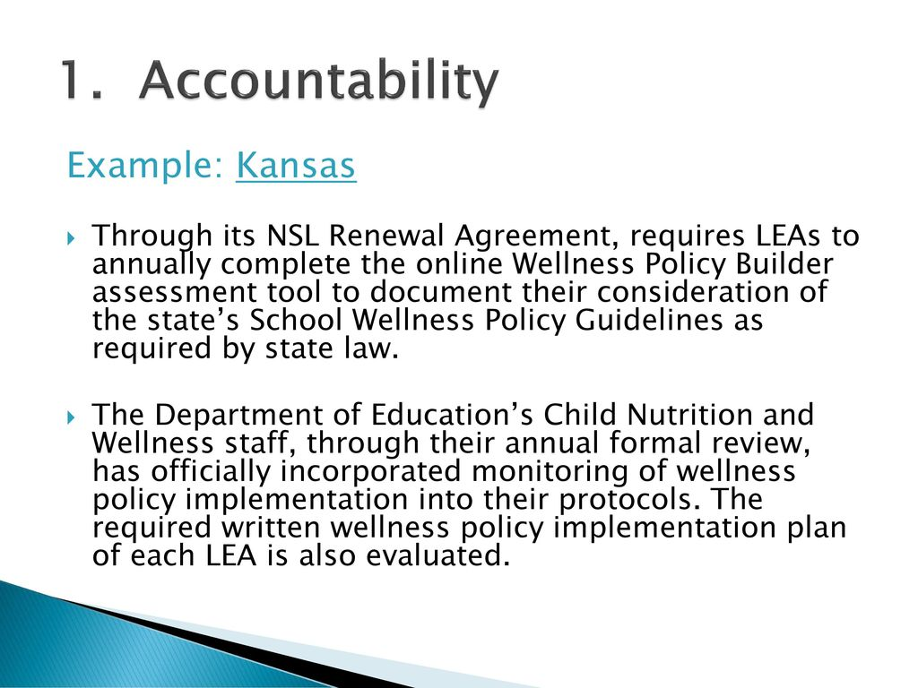 State Strategies to Support Local Wellness Policies - ppt