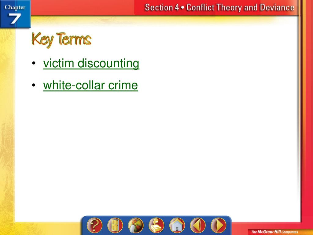 conflict theory and white collar crime