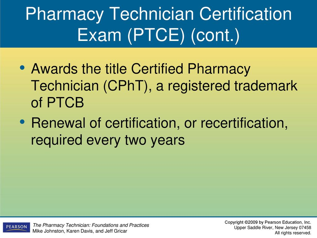Chapter 2 The Professional Pharmacy Technician Ppt Download