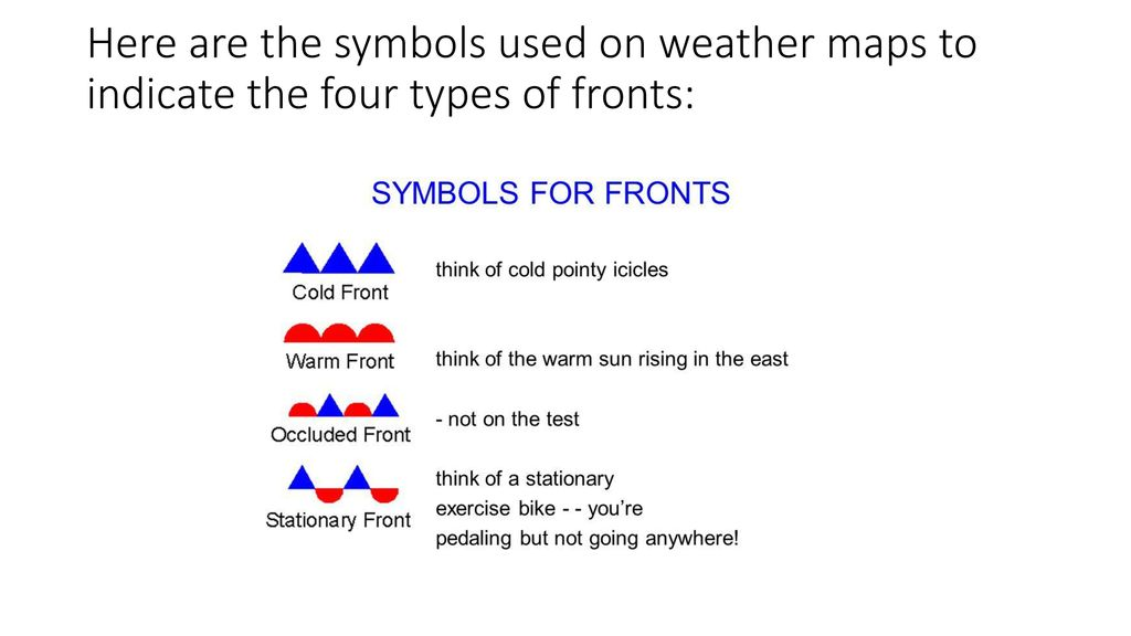 Air Masses And Fronts Air Masses An Air Mass Is A Large Body Of Air