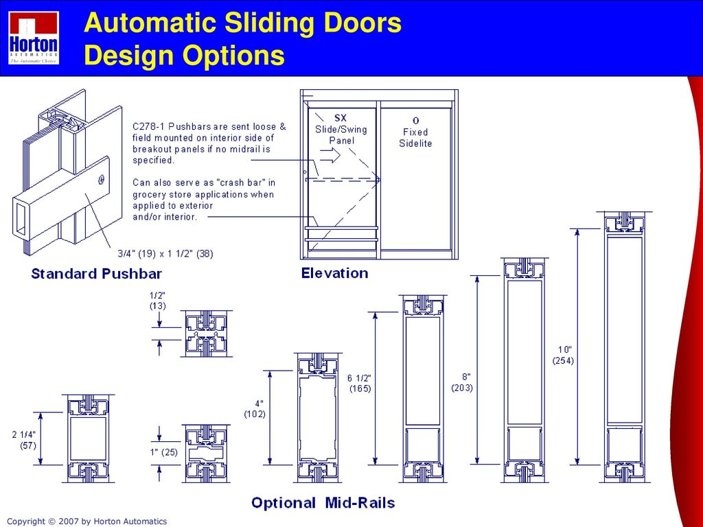 Slide and Swing Products - ppt download