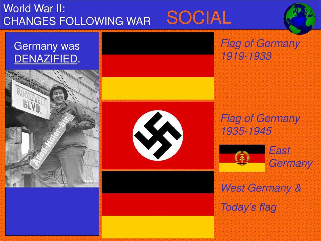 World War II: CHANGES FOLLOWING WAR - ppt download