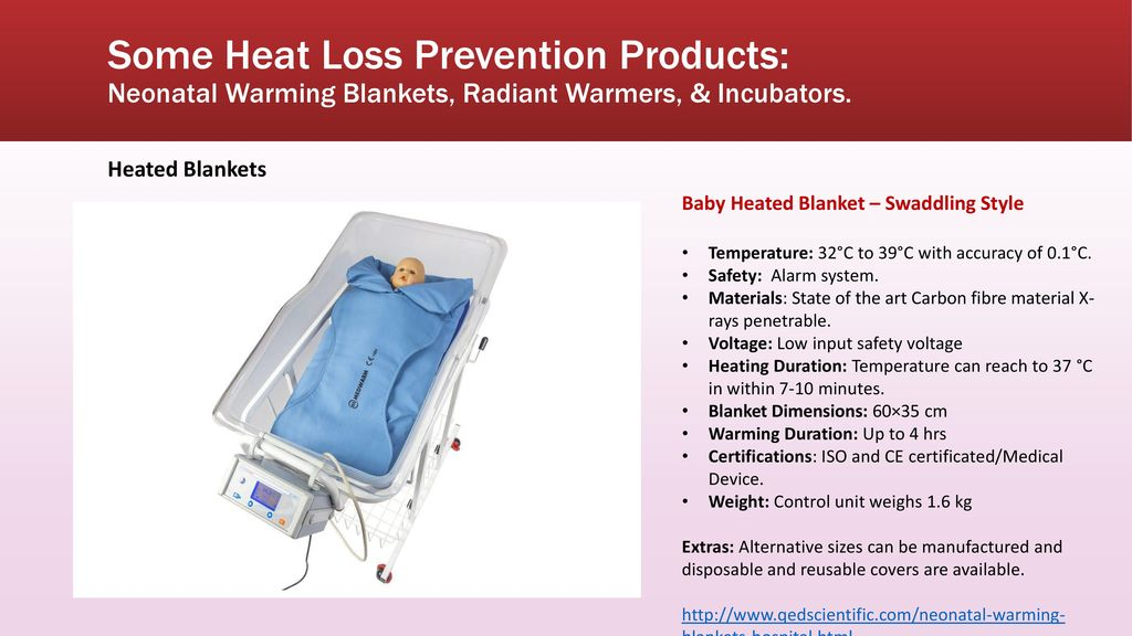 Some Heat Loss Prevention Products  Neonatal Warming Blankets cca919a05