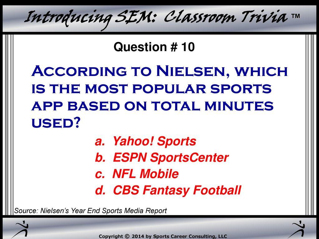 Introducing Sem Classroom Trivia Introducing Sem Classroom Trivia Ppt Download