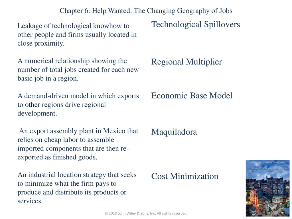 chapter 6: help wanted: the changing geography of jobs - ppt download