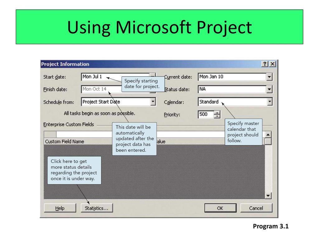 microsoft project tutorial