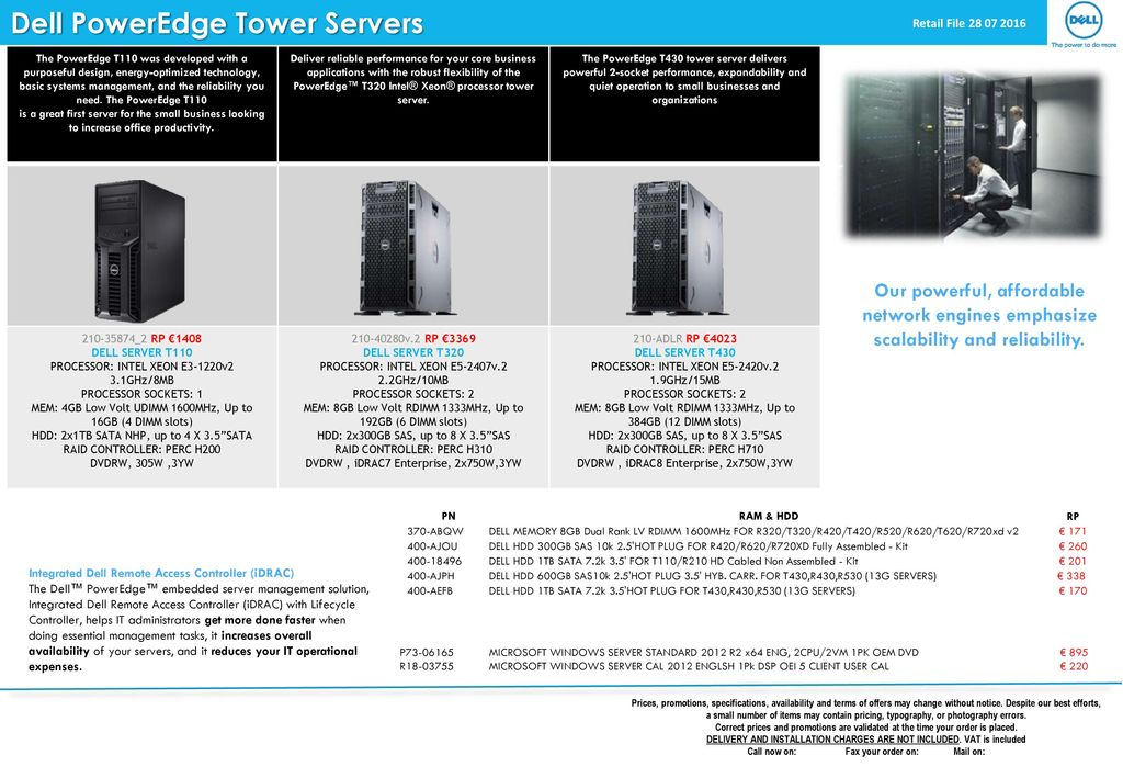 Dell PowerEdge Tower Servers - ppt download