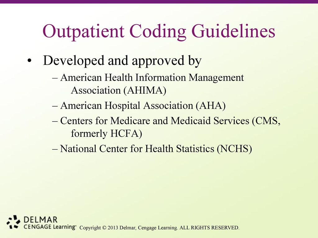 chapter 6a icd 9 cm coding ppt download rh slideplayer com Inpatient Coding Examples inpatient coding guidelines 2016