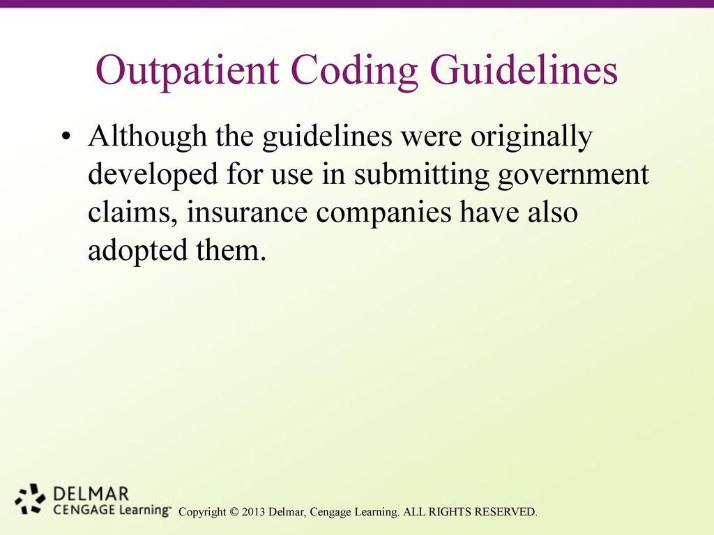 chapter 6a icd 9 cm coding ppt download rh slideplayer com Physician Coding inpatient coding guidelines 2016